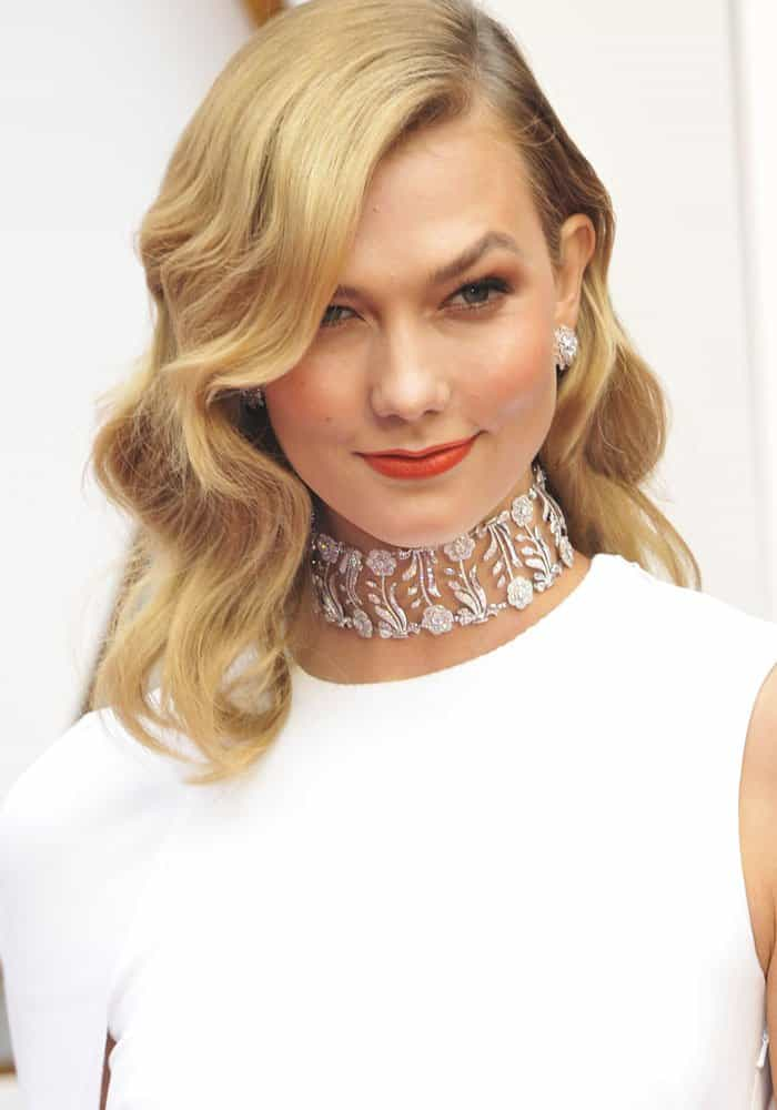 Karlie Koss at the 89th annual Academy Awards