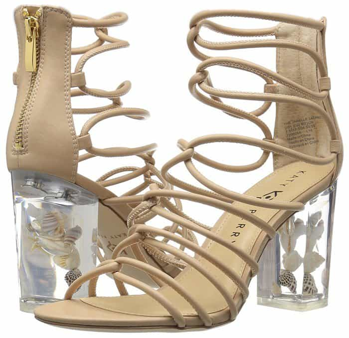 Katy Perry 'The Janelle' Lucite Sandals