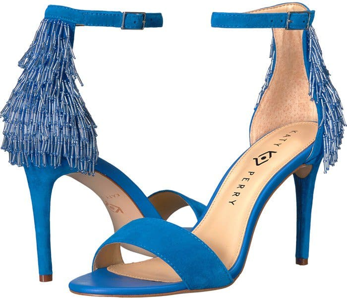 Katy Perry 'The Kate' Fringed Sandals
