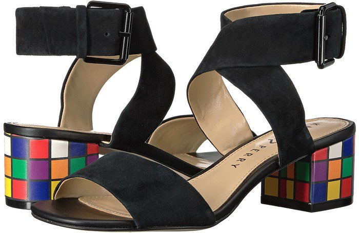 Inspired by Ernő Rubik's 3-D combination puzzle, the everyday sandal gets a well-heeled makeover