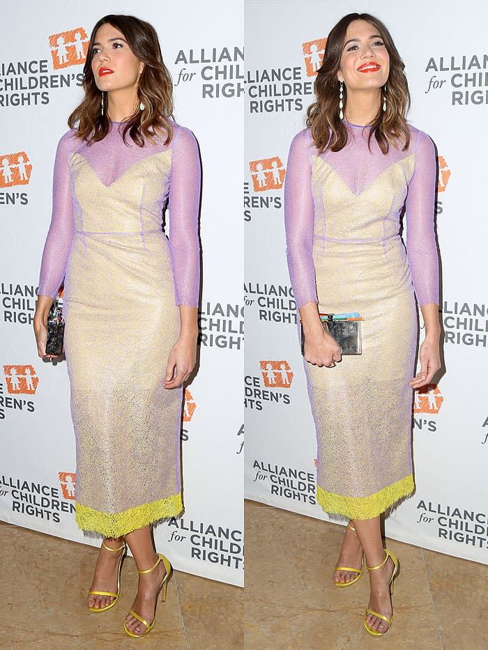 Mandy Moore hosting the Alliance for Children's Rights 25th Anniversary Celebration at The Beverly Hilton Hotel in Beverly Hills, California, on March 16, 2017.