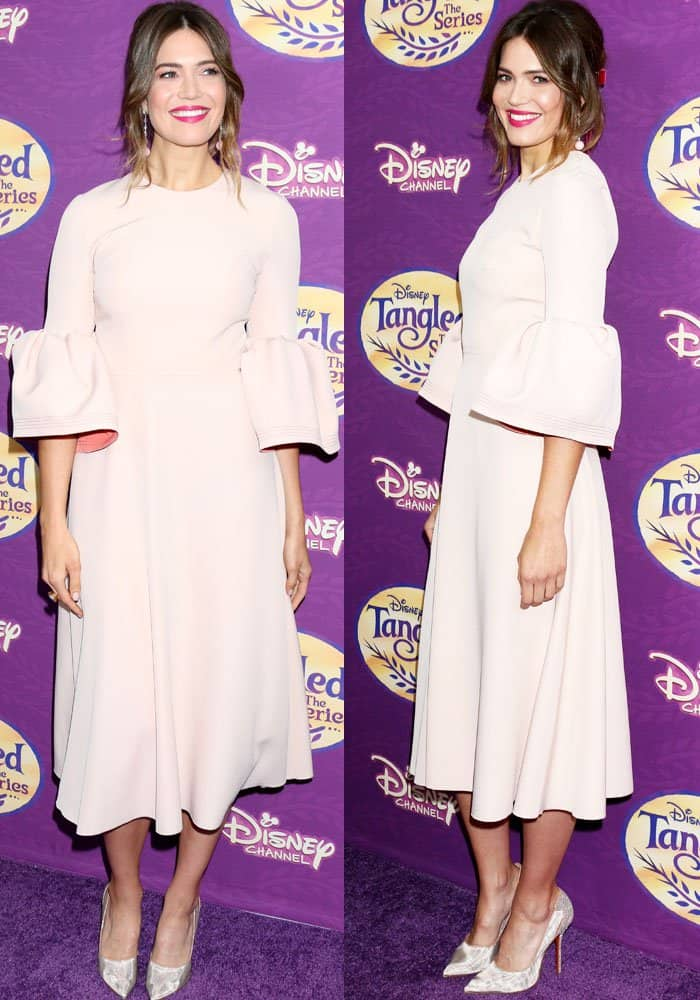 Mandy Moore at the screening of Disney's Tangled Before Ever After in Los Angeles