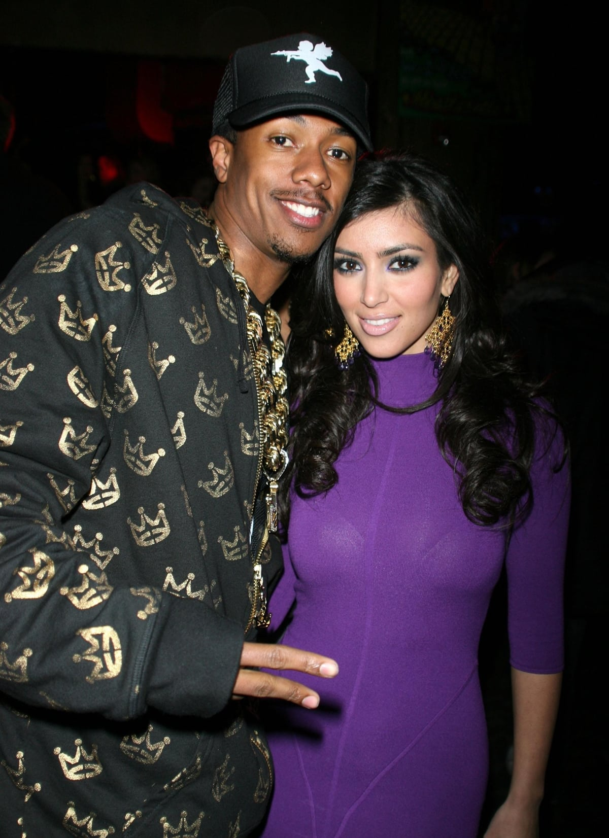 Nick Cannon and Kim Kardashian dated briefly in 2006 and 2007