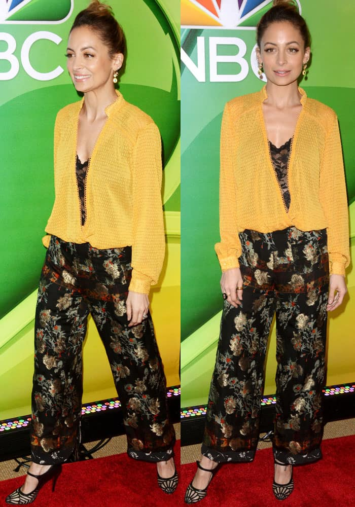Nicole Richie at the NBC Universal mid-season press junket at the Four Seasons Hotel in New York on March 3, 2017