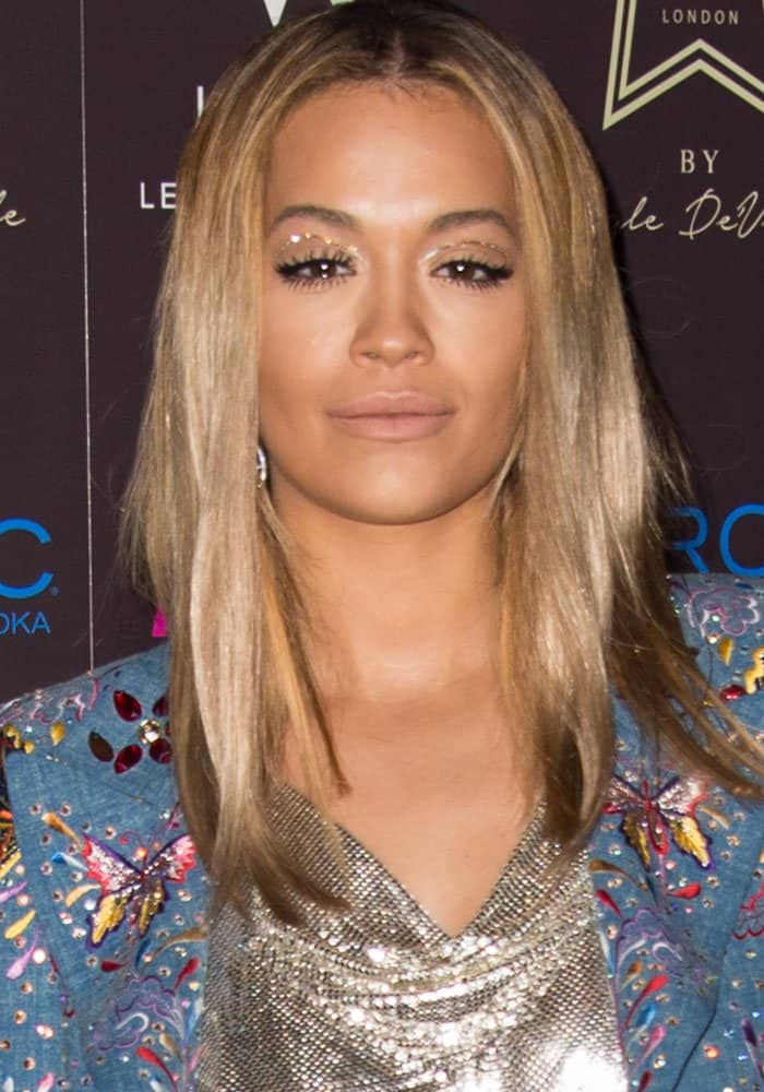 Rita Ora attends the Kyle De'Volle x JF London launch party at the W Hotel in London on March 23, 2017