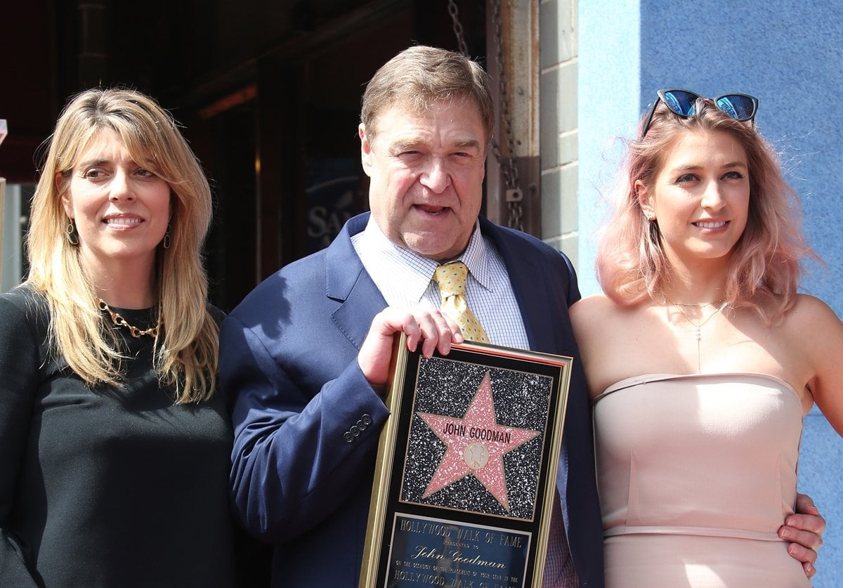 John Goodman with his wife Anna Beth Goodman and his daughter Molly Evangeline Goodman
