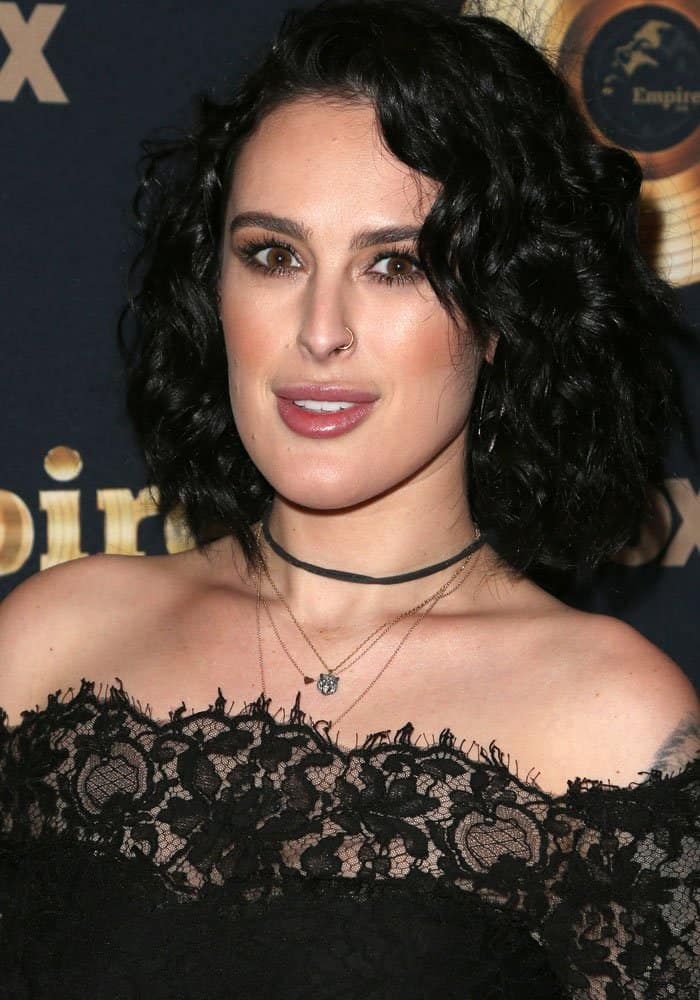 Rumer Willis at the spring premiere of FOX's