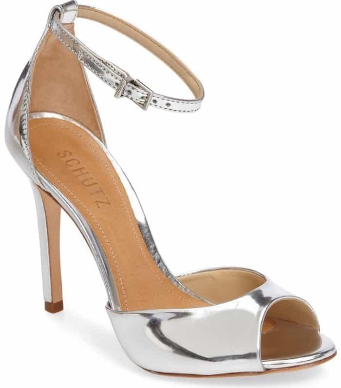 Schutz Saasha Lee gold sandals
