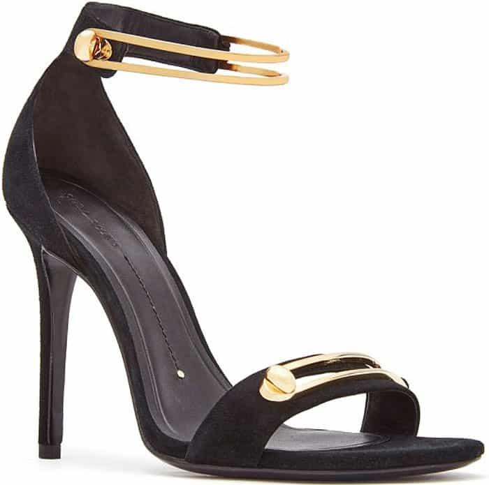 Stella Luna 'Stella' Turnlock-Ankle-Strap Sandals