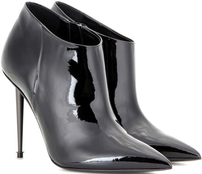 Tom Ford Patent Ankle Boots