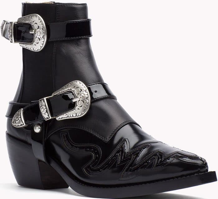Tommy Hilfiger High Cowboy Boot