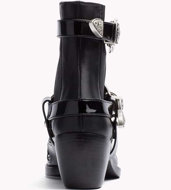 Tommy Hilfiger High Cowboy Boot