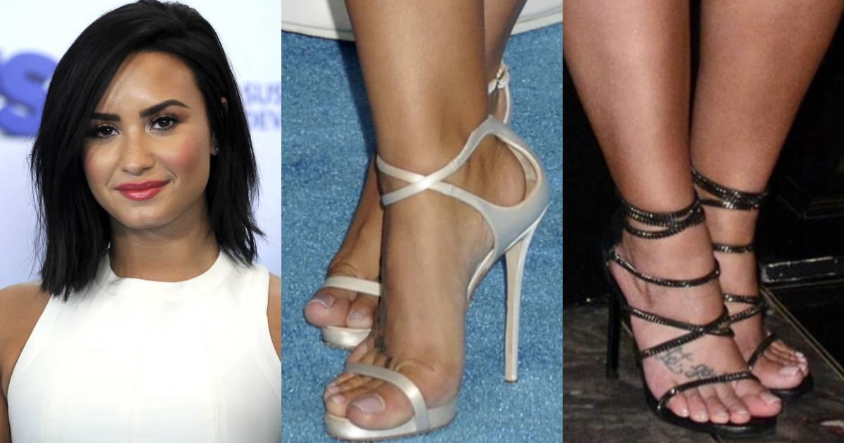 Are not Demi lovato nude feet