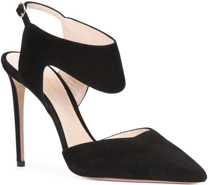 "Nicholas Kirkwood ""Leda"" Pumps in Black Suede"