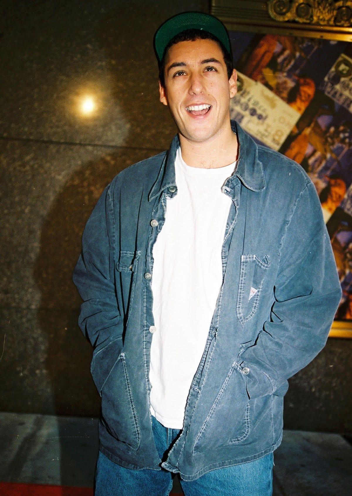 Adam Sandler at the 1994 MTV Video Music Awards