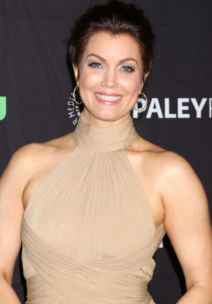 "Bellamy Young at the 2017 PaleyFest LA screening for ""Scandal"" in Los Angeles on March 26, 2017"