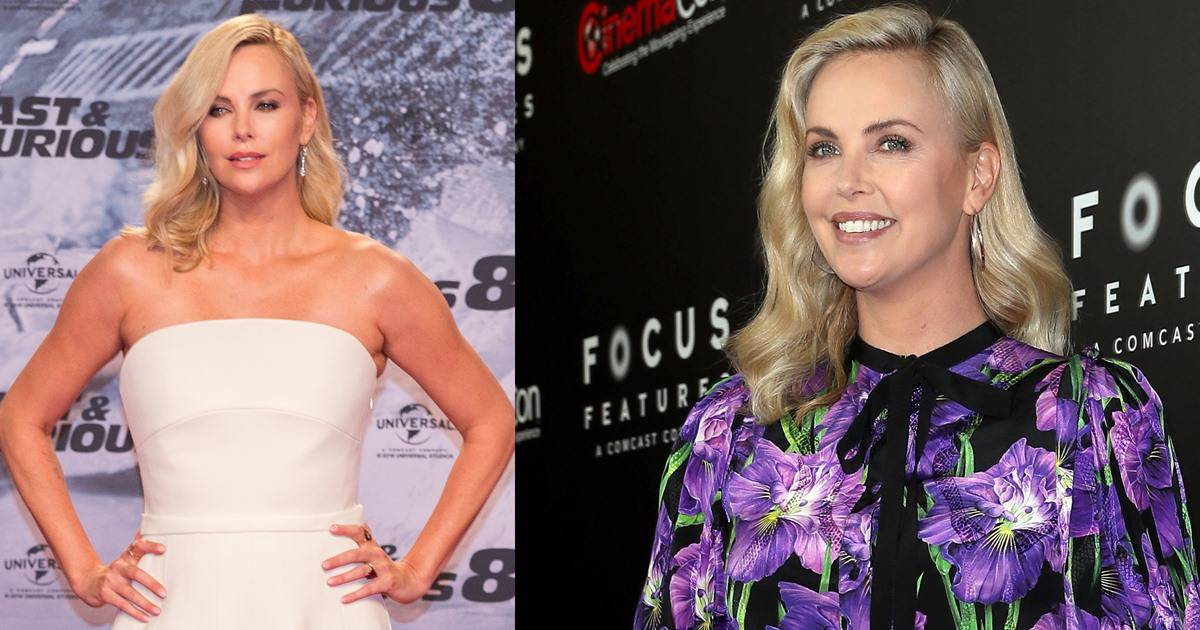 Charlize Theron Wears Wrong Shoes With Ivory Dior Couture