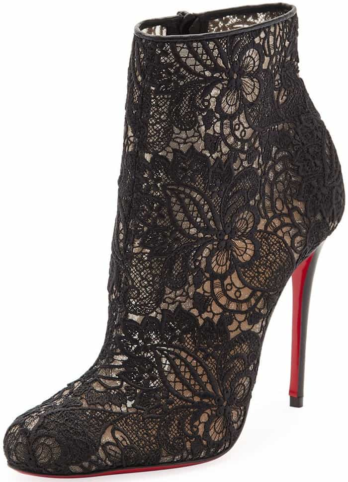 Christian Louboutin Miss Tennis Ankle Boots