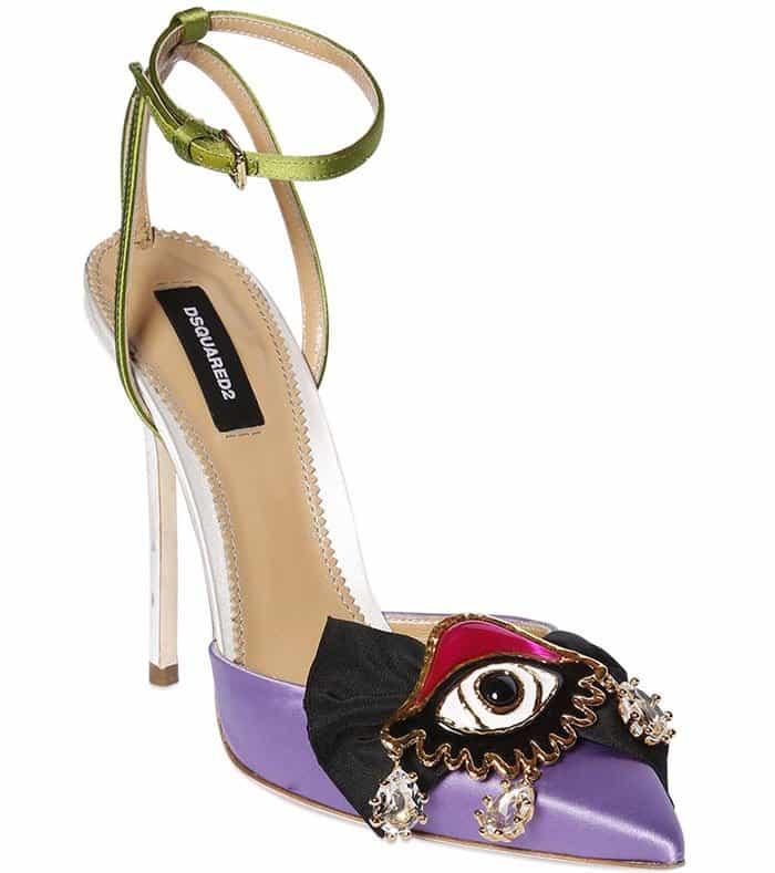 DSquared2 charm toe pumps