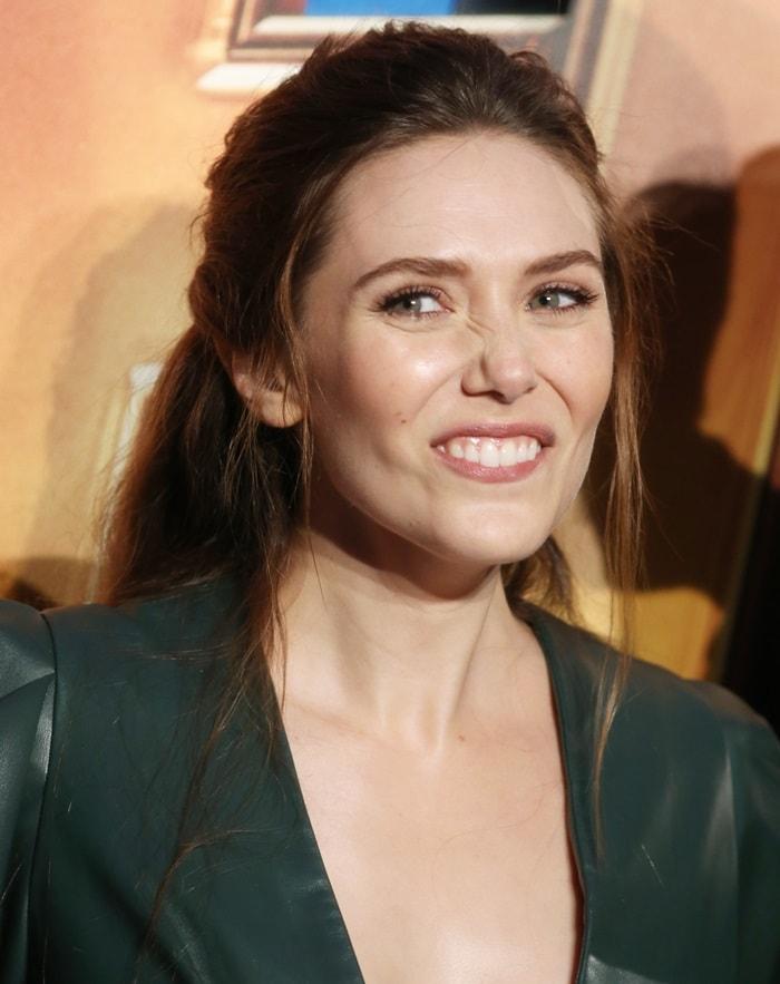 Elizabeth Olsen at Marvel Studios' 'Avengers: Infinity War' UK Fan Event
