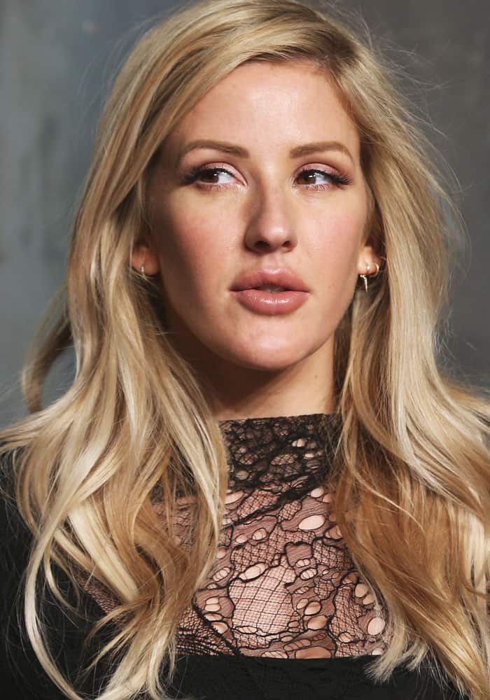 """Ellie Goulding at Omega's """"Lost In Space"""" anniversary party held at the Tate Modern in London on April 26, 2017"""