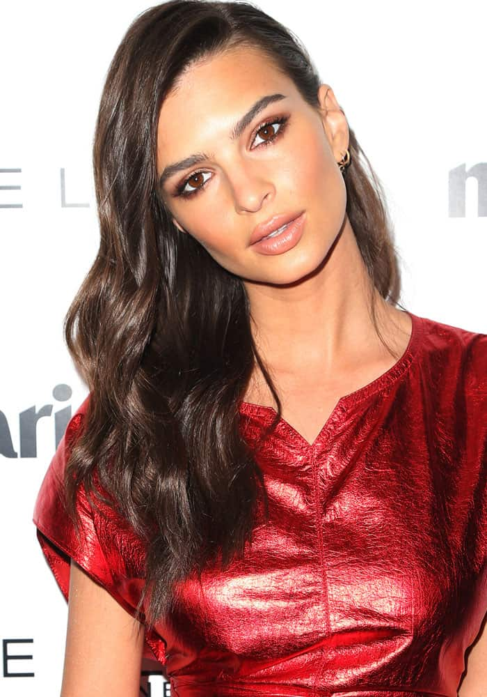 """Emily Ratajkowski at Marie Claire's """"Fresh Faces"""" in West Hollywood on April 21, 2017"""