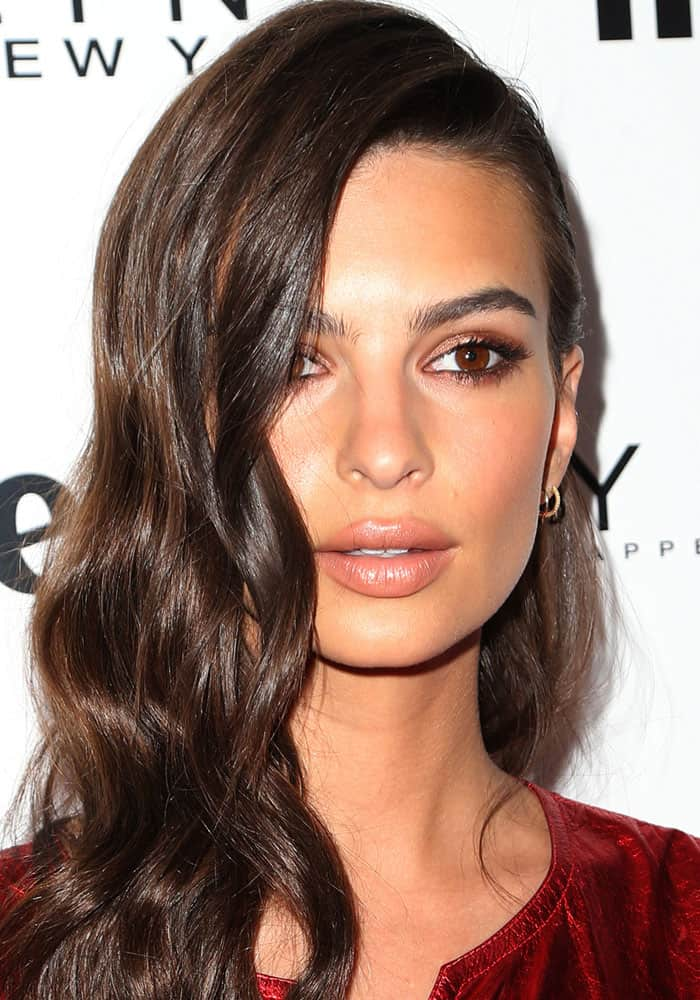 "Emily Ratajkowski at Marie Claire's ""Fresh Faces"" event held at the Doheny Room Lounge in West Hollywood, California, on April 21, 2017"