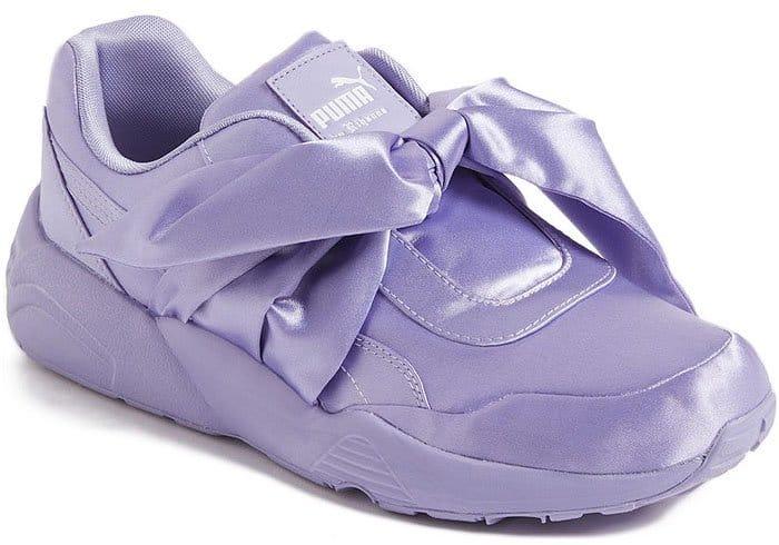 Fenty Puma by Rihanna bow sneakers in Sweet Lavender