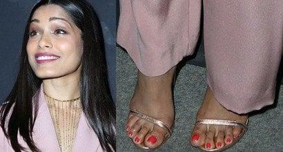 Freida Pinto Feet