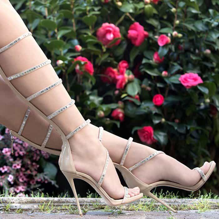 Giuseppe Zanotti 'Calliope High' Sandals