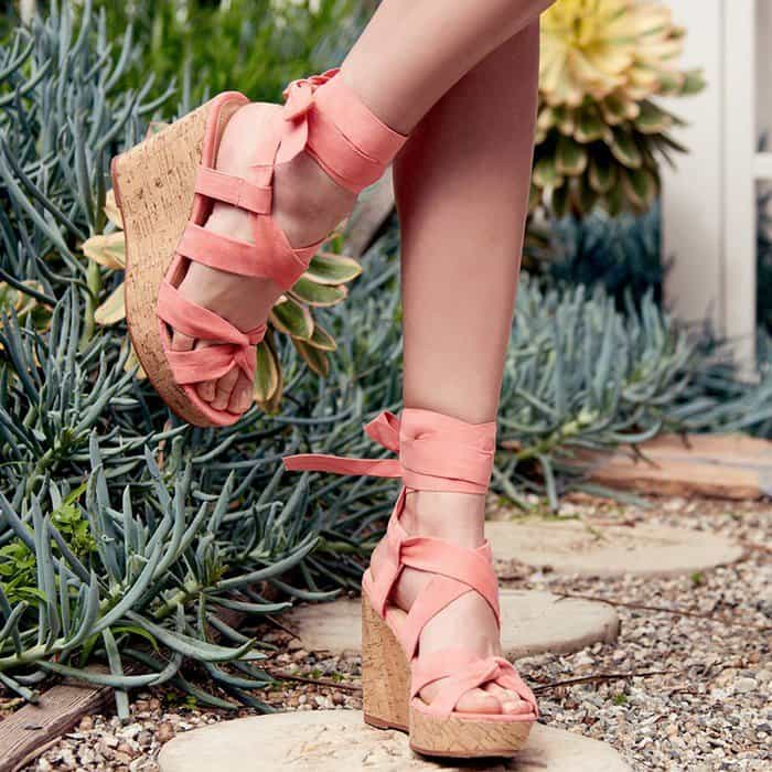 'Hunter' Cork Wedges
