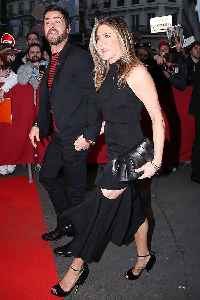 Jennifer Aniston and Justin Theroux announced their split in February 2018 after two and a half years of marriage
