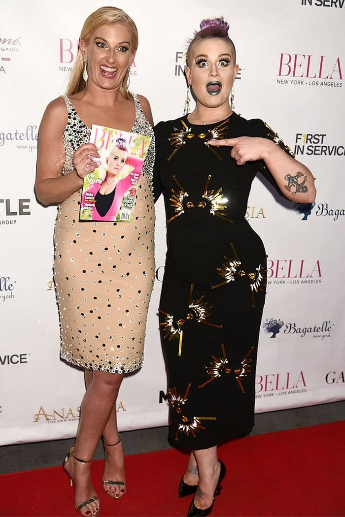Kelly Osbourne attending and hosting the official launch party for her Bella Magazine May/June 2017 Beauty Issue cover held at Bagatelle in New York City on April 24, 2017.
