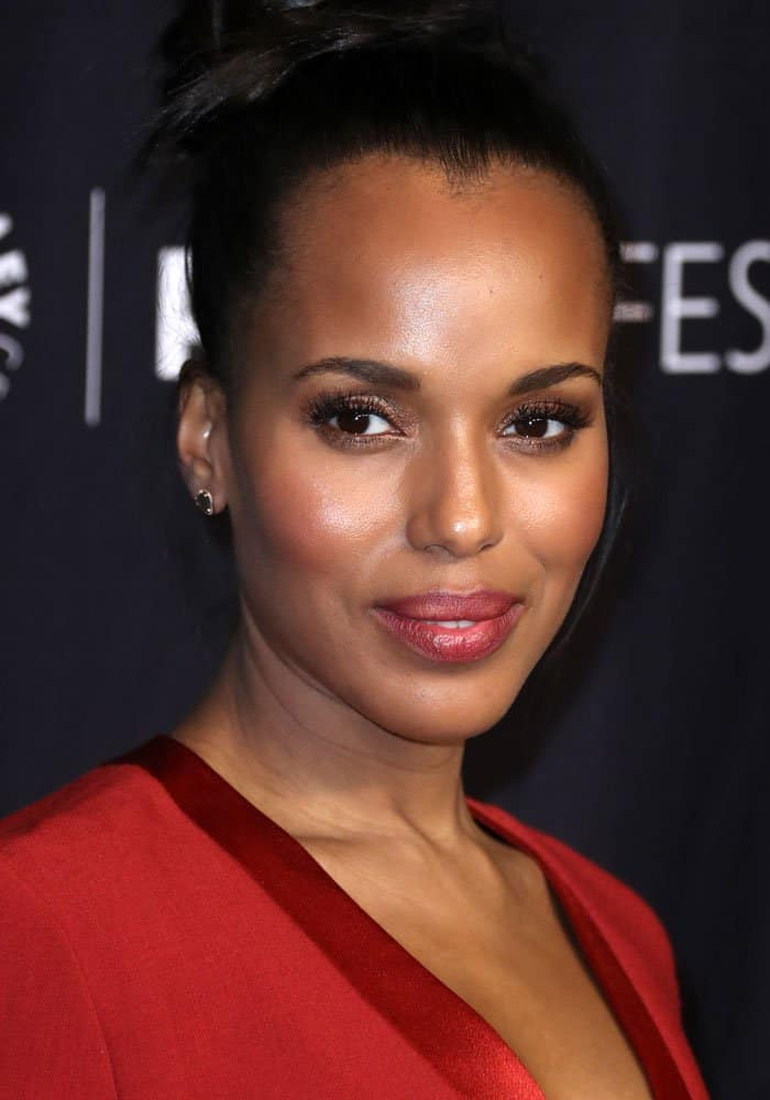 Kerry Washington at the 34th annual PaleyFest LA screening for Scandal in Los Angeles on March 26, 2017