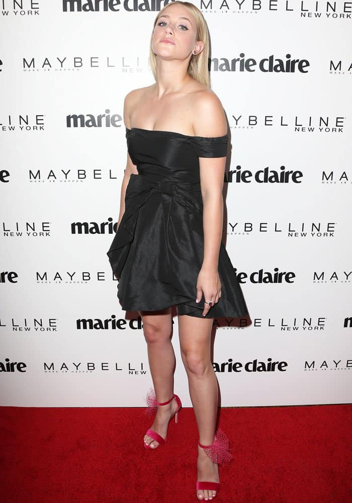 Lili Reinhart Of Riverdale Attends Marie Claire Event In