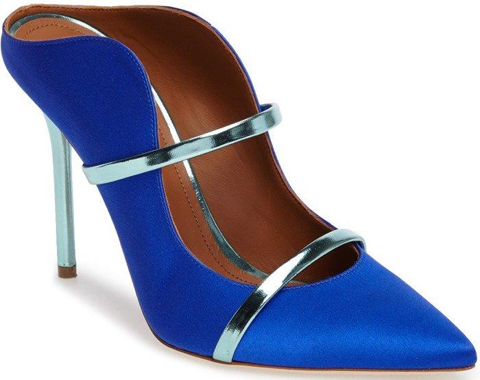 Malone Souliers 'Maureen' Heels Blue