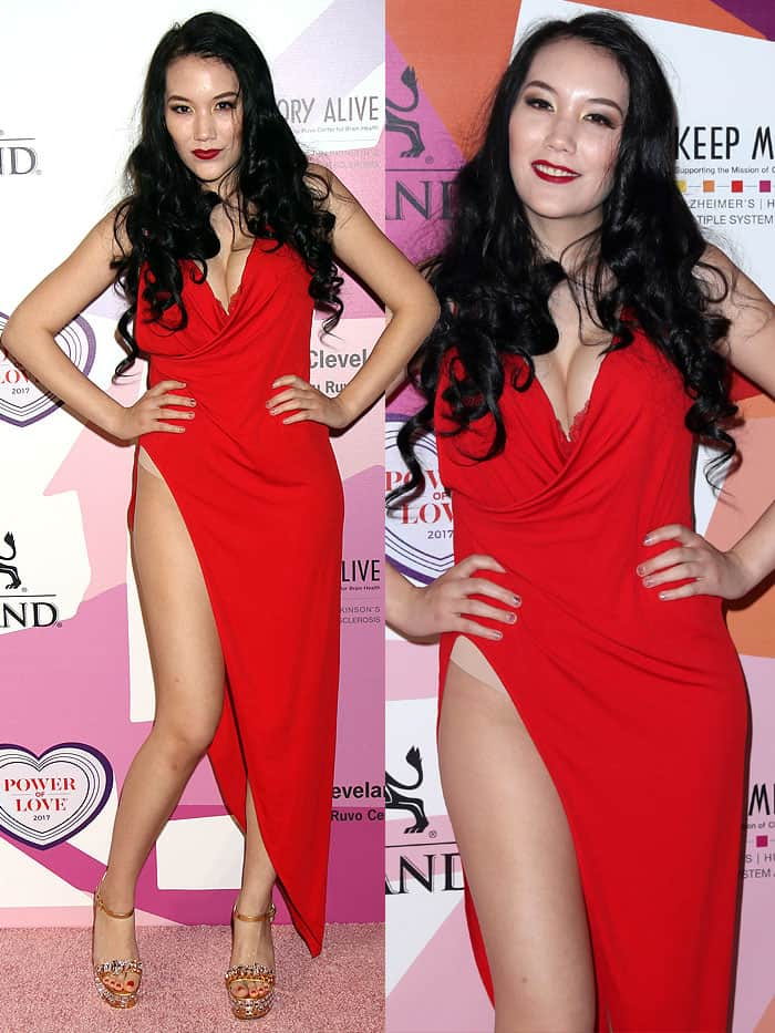"""Manika Ward at Keep Memory Alive's 21st Annual """"Power of Love Gala"""" at the MGM Grand Garden Arena in Las Vegas, Nevada, on April 27, 2017."""