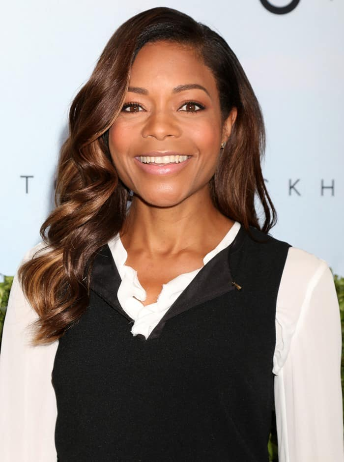 Naomie Harris attends the launch of Victoria Beckham for Target collection held at a private residence in New York City on April 1, 2017