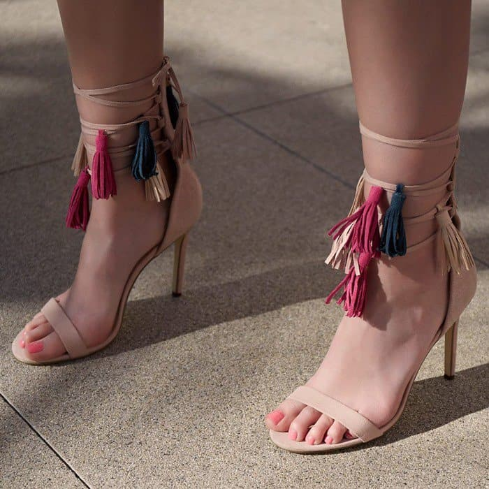 Fierce 'Nikita' Fringe Sandals