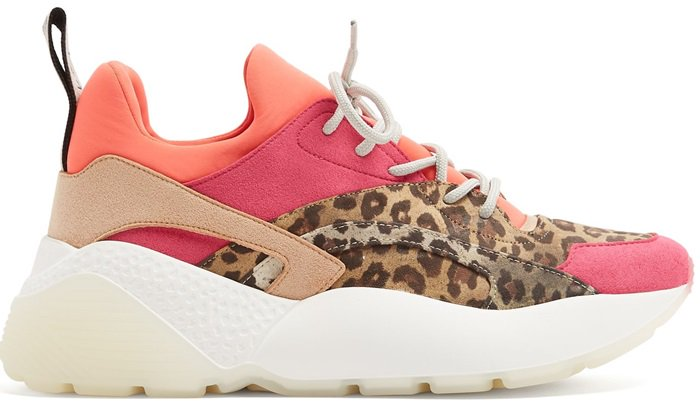 These strawberry-pink fashion sneakers will lend a contemporary grounding to new season looks