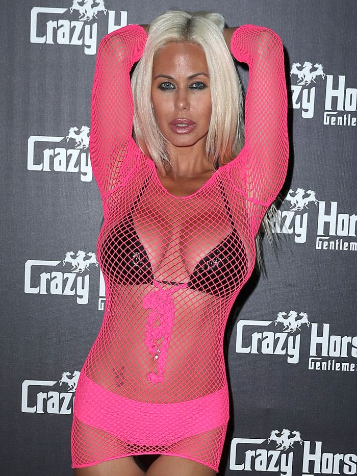 Shauna Sand at Courtney Stodden's Official Divorce Party at Crazy Horse III in Las Vegas, Nevada, on April 29, 2017