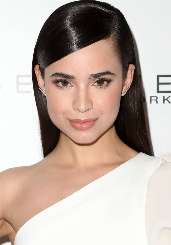 Sofia Carson at Marie Claire's Fresh Faces event in Hollywood on April 21, 2017
