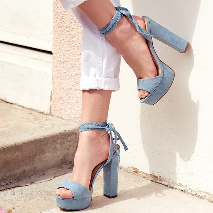 Bold 'Spencer' Platform Sandals