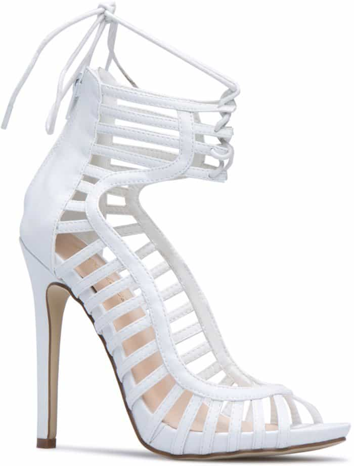Caged 'Tamia' Pump-Sandals