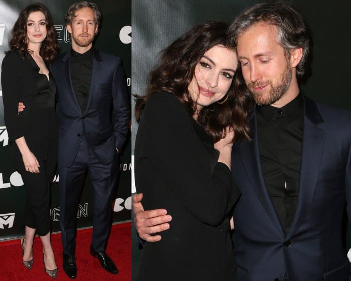 """Anne Hathaway and Adam Shulman - """"Colossal"""" LA Premiere"""