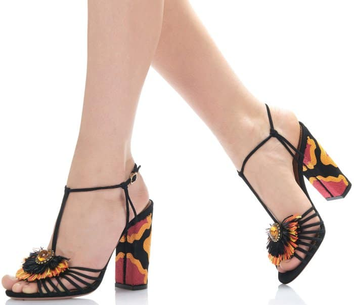 "Aquazzura ""Samba"" Sandals"