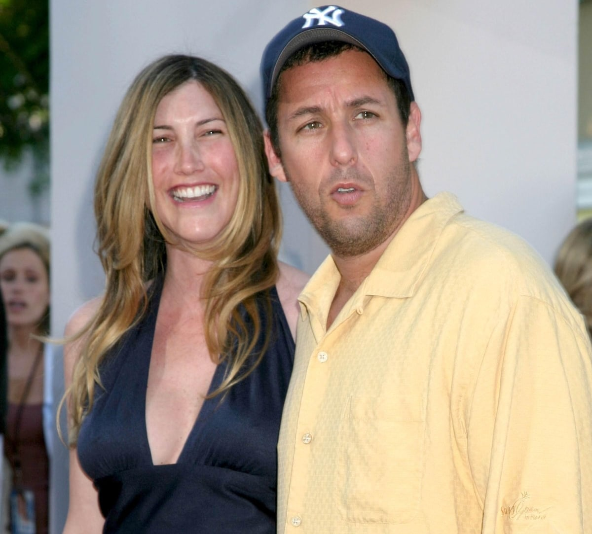 Adam Sandler and his wife Jackie met on the set of the film Big Daddy in 1999