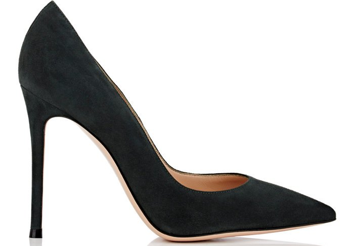 "Gianvito Rossi ""Gianvito"" Suede Pumps"