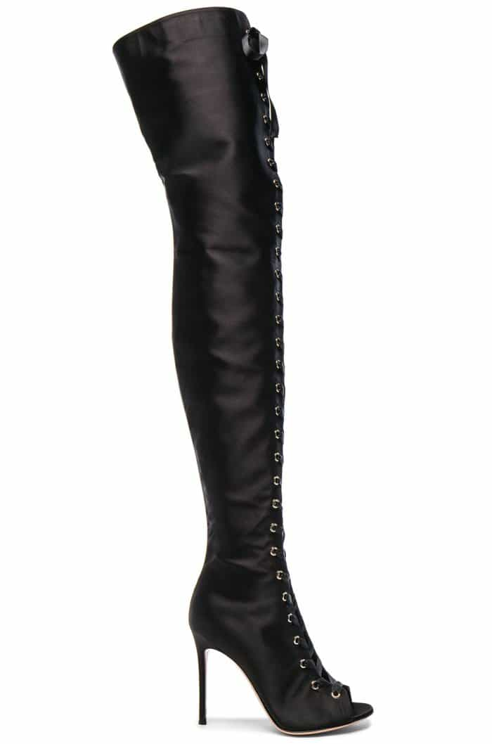 """Gianvito Rossi """"Marie"""" Lace-Up Boots"""