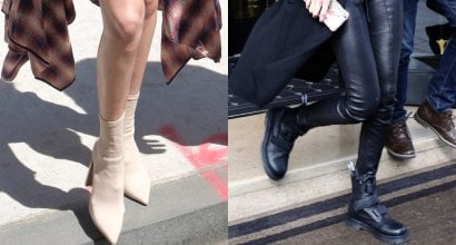 f01161bc5b4 Gigi Hadid Cool in Dr Martens  Coralia  Boots and Tony Bianco  Diddy   Booties